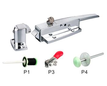 Kühlschrank Scharniere : Gusseisen federbelasteter türriegel yl kühlschrankscharniere