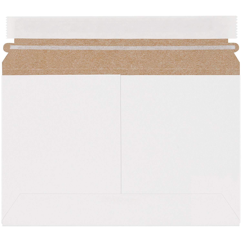 "Boxes Fast BFRMU96W Utility White Flat Mailers, 9 1/2"" x 6"", White (Pack of 200)"