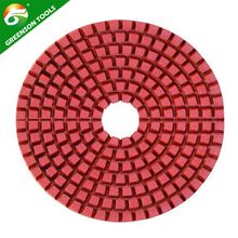 Resin Metal Wet Dry Flexible Diamond Floor Grinding Polishing Pad