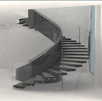 Modern House Round Stairs Curved Staircase Custom Design Buy
