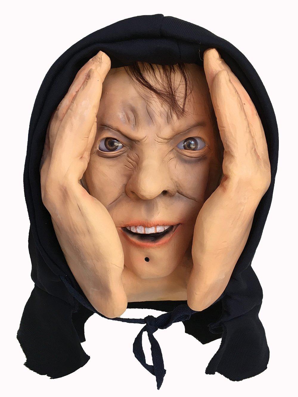 motion sensor animated eyes scary peeper creeper window prop halloween haunted house prank decoration display