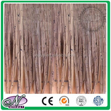 synthetic fiber weave/ synthetics surface thatch roof mat