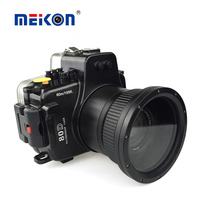 Meikon 60M Underwater camera digital dslr Waterproof Housing for Canon 80D