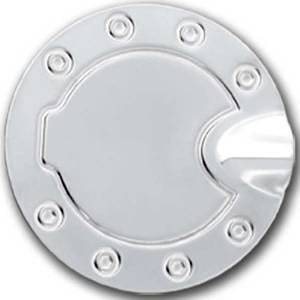 Dodge Ram 1500 2002-2008 Stainless Steel Chrome Gas Tank Cover Overlay (Installs over existing)