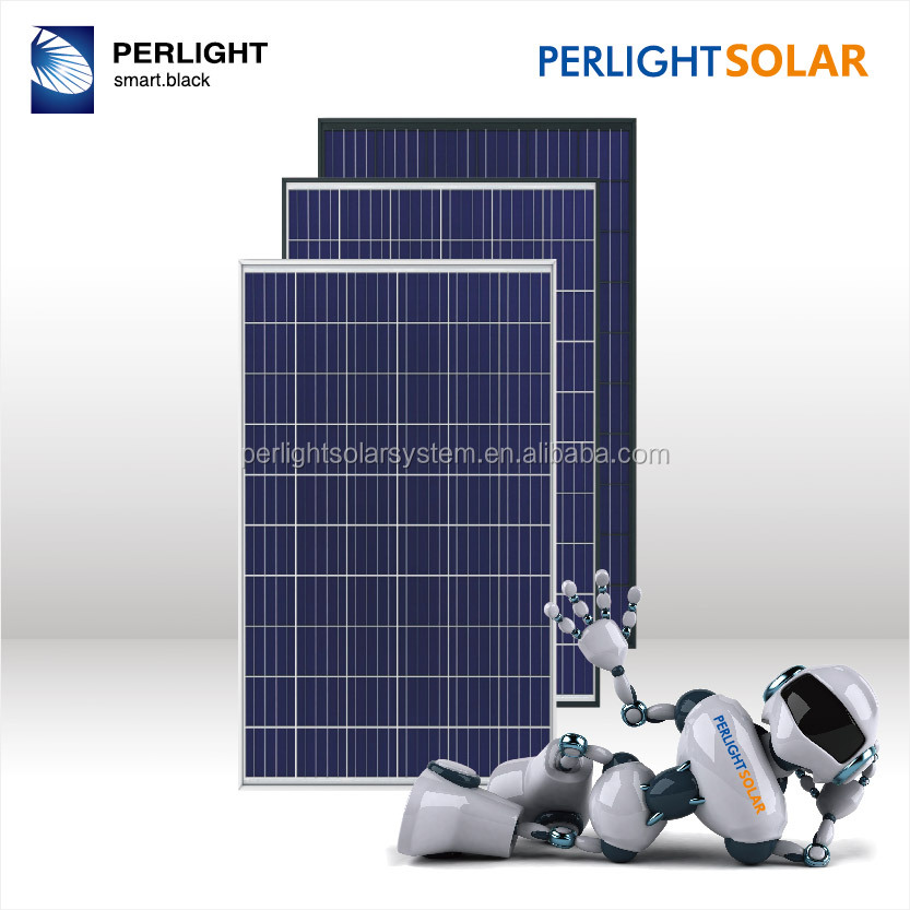 Perlight solar supply 260 w solar panel with anodized aluminium alloy frame