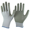 NMSAFETY grey nitrile hand job gloves