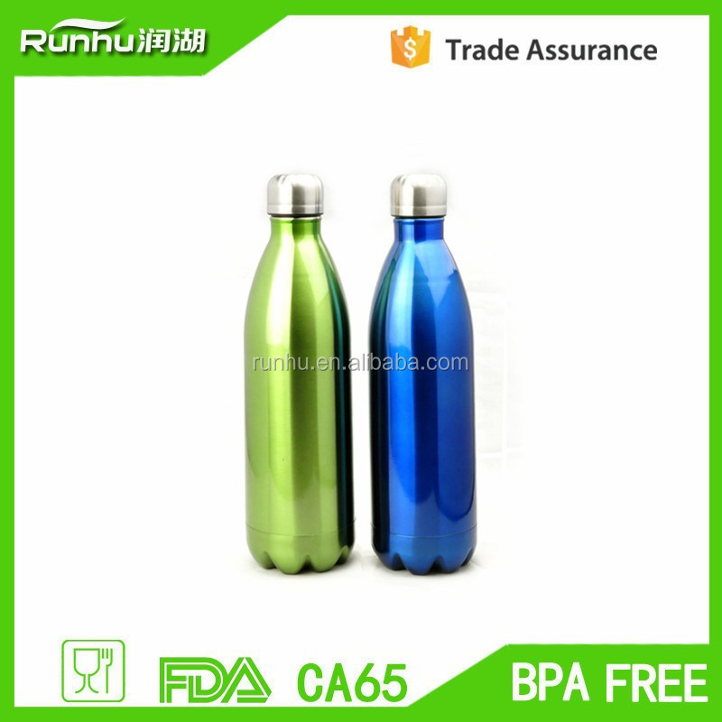 MIRA Insulated 25oz Cola Shape Vacuum Stainless Steel Water Bottle
