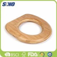 Durable Bathroom Bamboo Toliet Seat