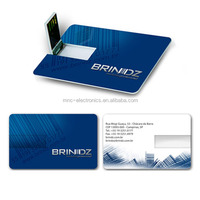 Customized LOGO high quality new arrival 1gb 2gb 4gb 8gb 16gb 32gb business credit card usb