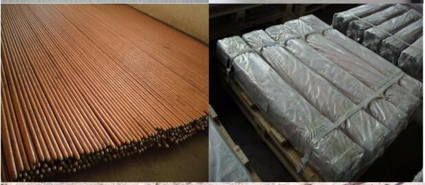 Copper bonded electrical earth rod