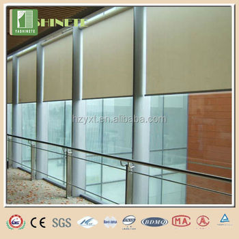 For house somfy motorized roller blinds folding window for Motorized roller shades price