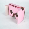 Custom Branded Die Cut Single Color Printing Wholesale Virtual Reality Cardboard Reader Glasses