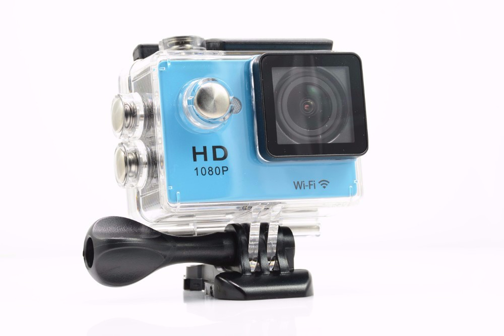 2016 Factory Price High Quality 2.0inch Mfine Sport DV Manufacturer W9 WIFI 4K Underwater Sport Action Camera