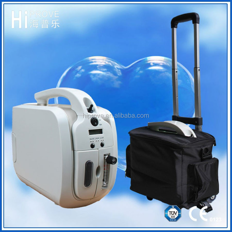Hot sales portable oxygen concentrator for car with battery