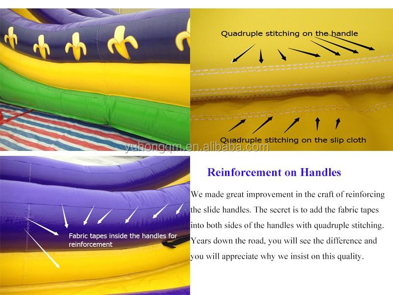 सस्ते बिक्री के लिए वाणिज्यिक स्लाइड inflatables खेल inflatable स्लाइड