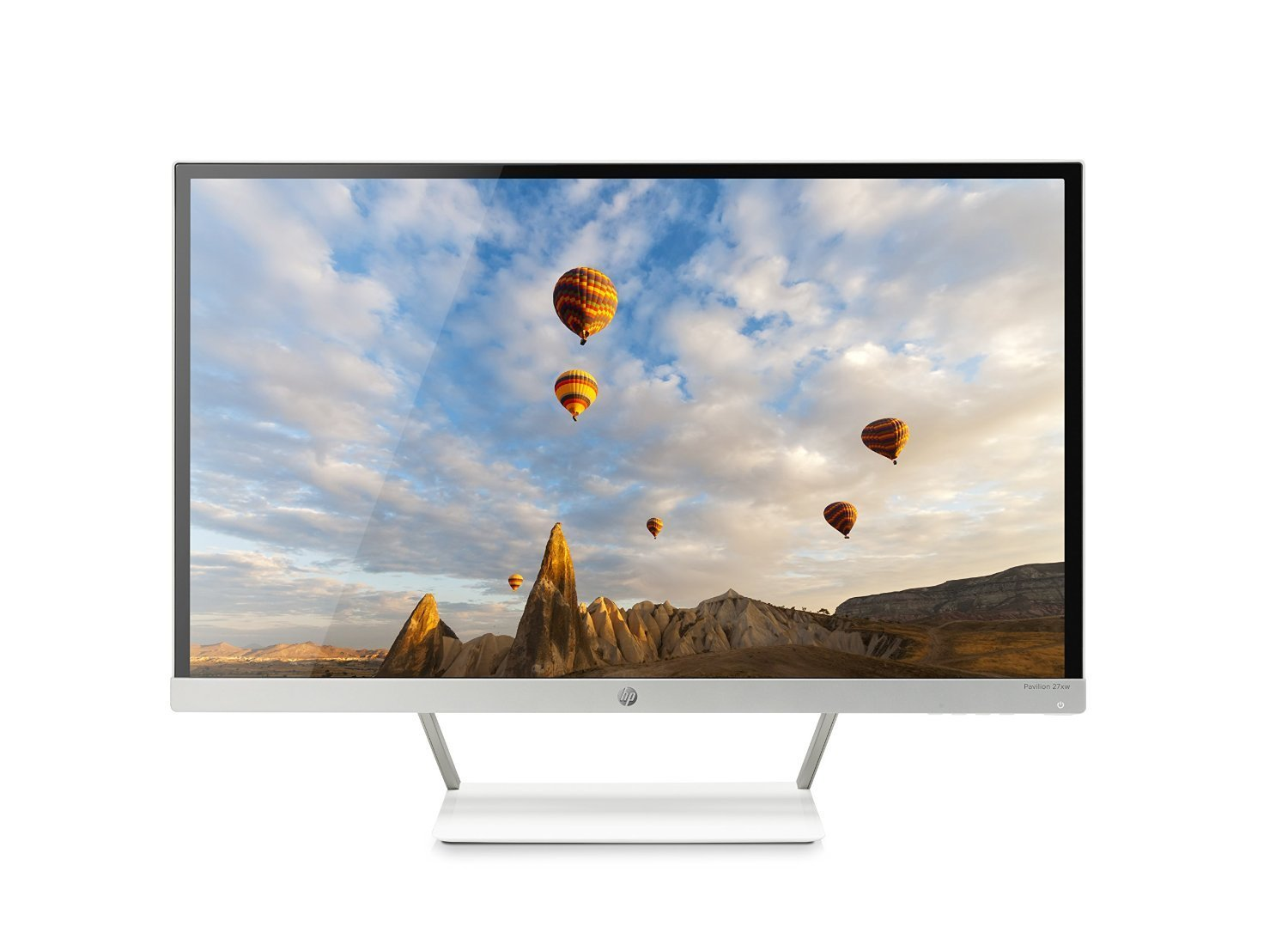 HP Pavilion 27xw 27-in IPS LED Backlit Monitor (Certified Refurbished)
