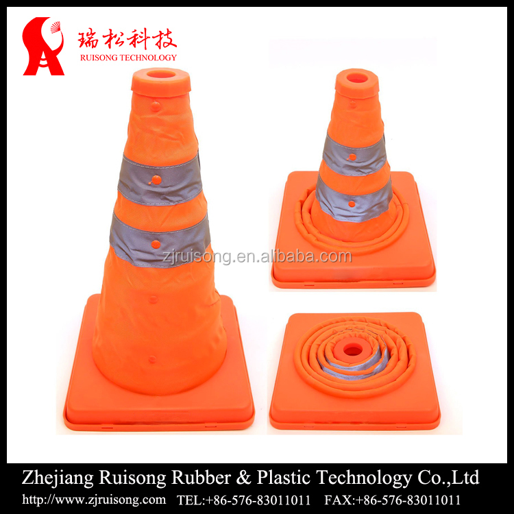 Garage used indoor folding traffic cone