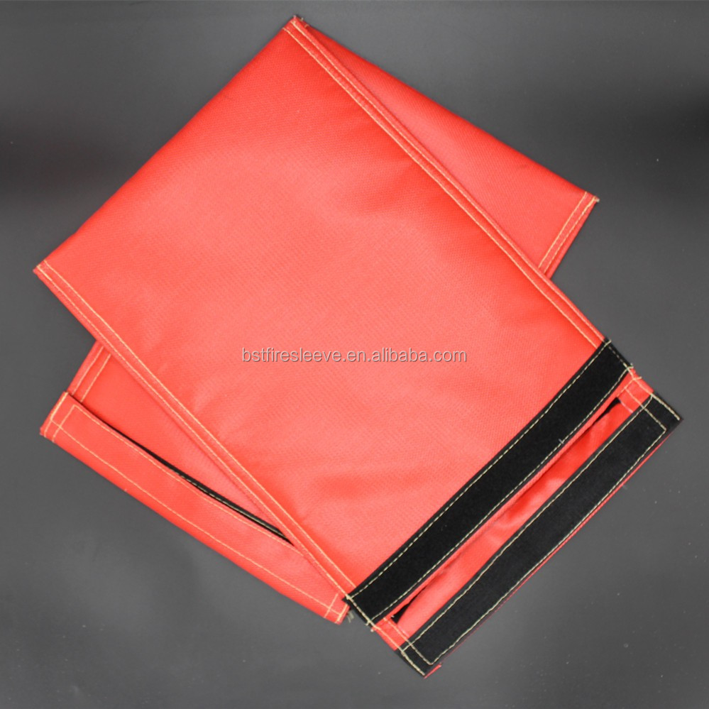 Red Water Proof Document Bag