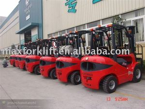 2.5Ton Gasoline/LPG forklift truck with Nissan engine