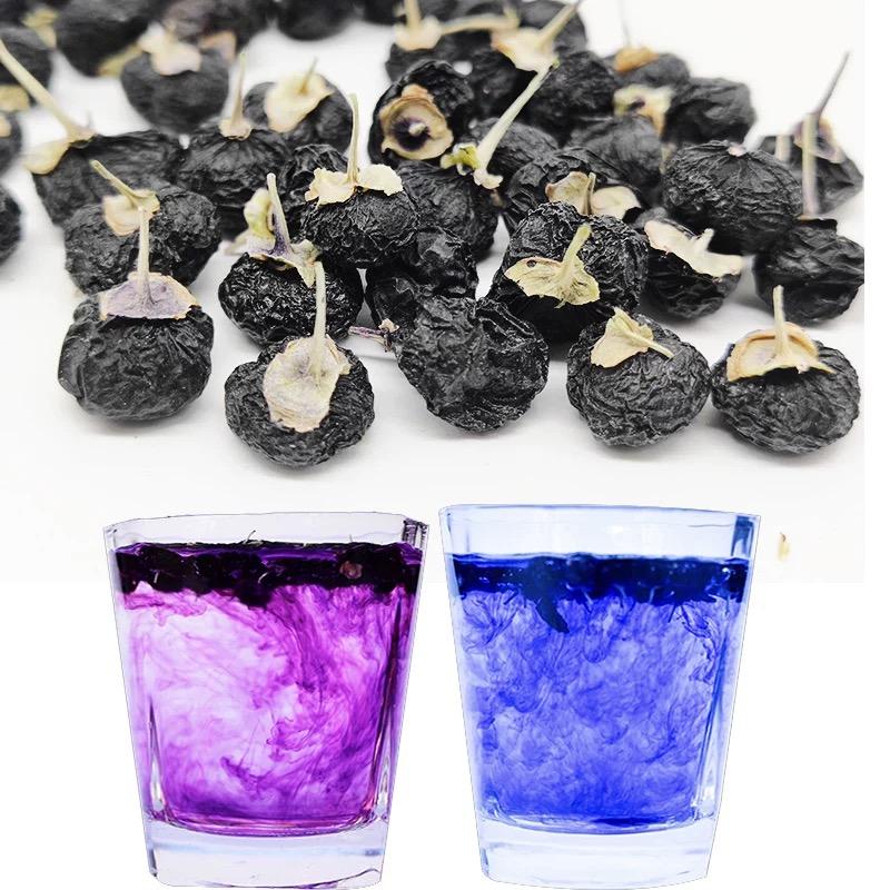Organic Qinghai Ningxia Black Wolfberry Dried Black Goji Fruit Berry Goji Herbal Tea Black Goji Berry Tea - 4uTea | 4uTea.com