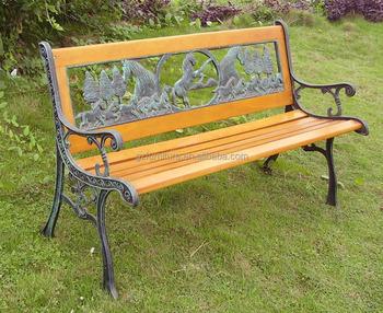 скамья парка деревянные скамейки чугунные концы Buy парковая скамейкадеревянные скамейкичугунные концы Product On Alibabacom