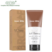 OEM/ODM Private Label Self Tanning Lotionwhite Best Bronzer Golden Buildable Light Medium or Dark Gradual Tan for Body and Face