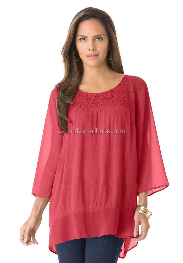 Wholesale Ladies Shirts Blouses - Collar Blouses