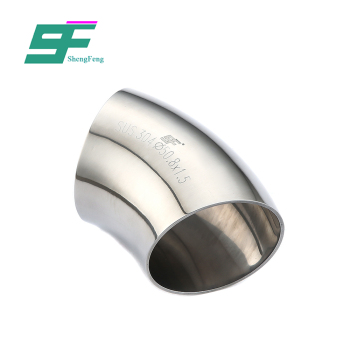 Exquisite workmanship low price 304 stainless steel sanitary pipe fittings food grade