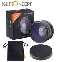 K&Fconcept 58mm 0.45x Multi-coated Super Wide Angle Macro lens Camera for Canon EOS 350D/ 450D/ 500D/ 1000D/ 550D/ 600D/ 1100D