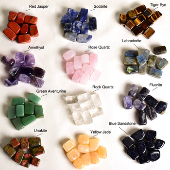 Wholesale Various Types Of Natural Polished Gemstone Tumbled Stones
