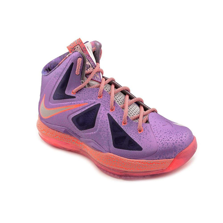 pretty nice 148b7 b949d Nike LeBron X GS All Star Area 72 Extraterrestrial Galaxy Basketball Shoes  543564-500 (