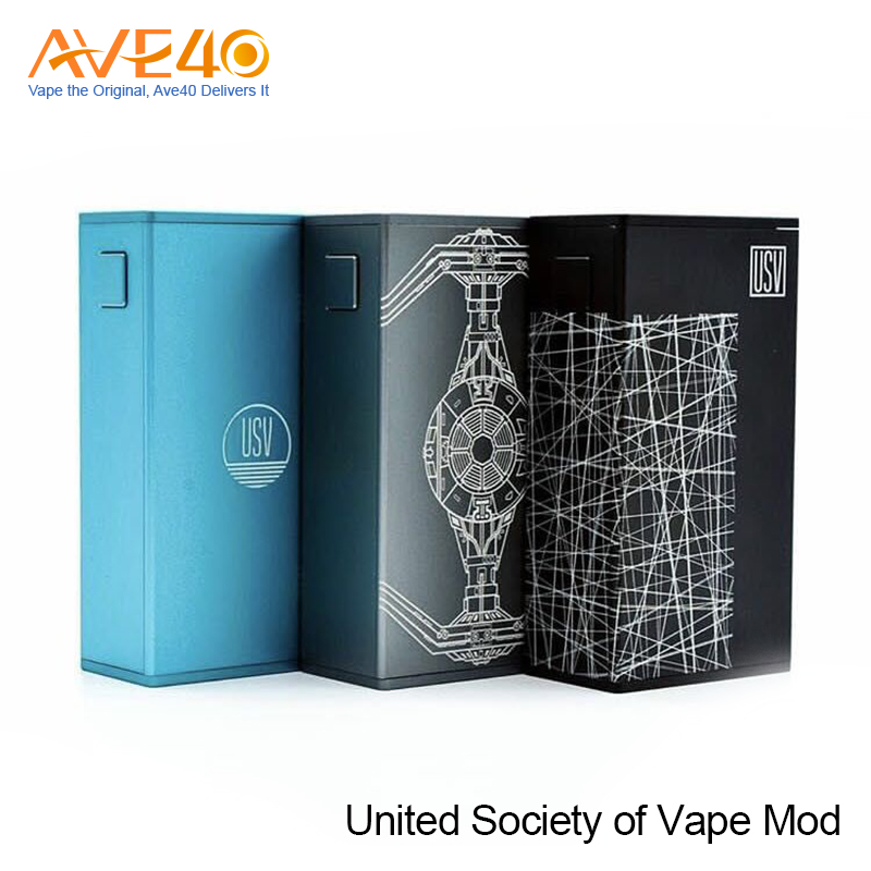 Latest Vapor product United Society Of Vape USV L 75W Box Mod for Ecig