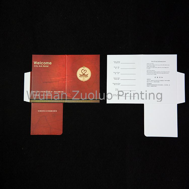 Zuoluo Hot selling products hotel key card envelopes