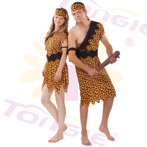 Party Carnival Wear Sexy Popular Wild Man Dress Indiana Cosplay Costume Savage