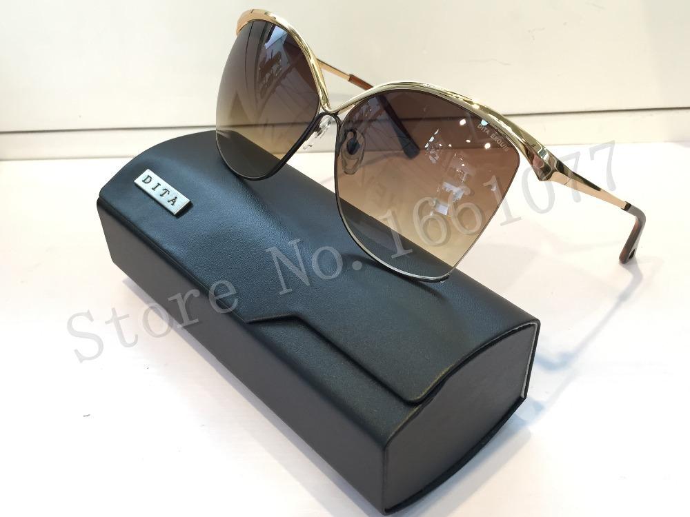 a4c9ed16a Buy Hot!!oculos Dita sunglasses new dita EXQUIS women brand designer metal  model cat eye sunglasses in Cheap Price on m.alibaba.com