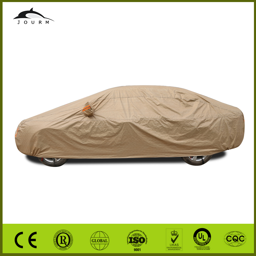 high quality custom colorful disposable plastic car covers