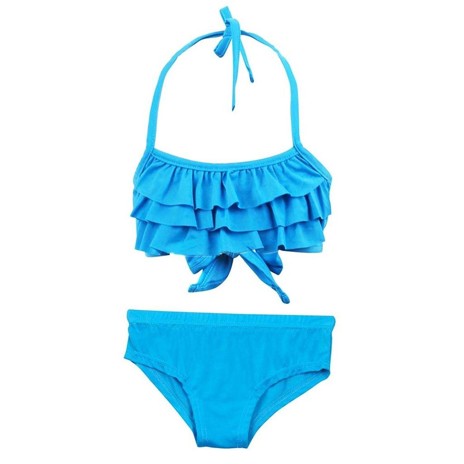 0c9c8292674ce ... Off Shoulder Printed Cute Bikini Sets. null. null. Get Quotations ·  Bylulis Cute 2 Pieces Beach Bikini Swimsuits Bathing Suit for Kids Girls