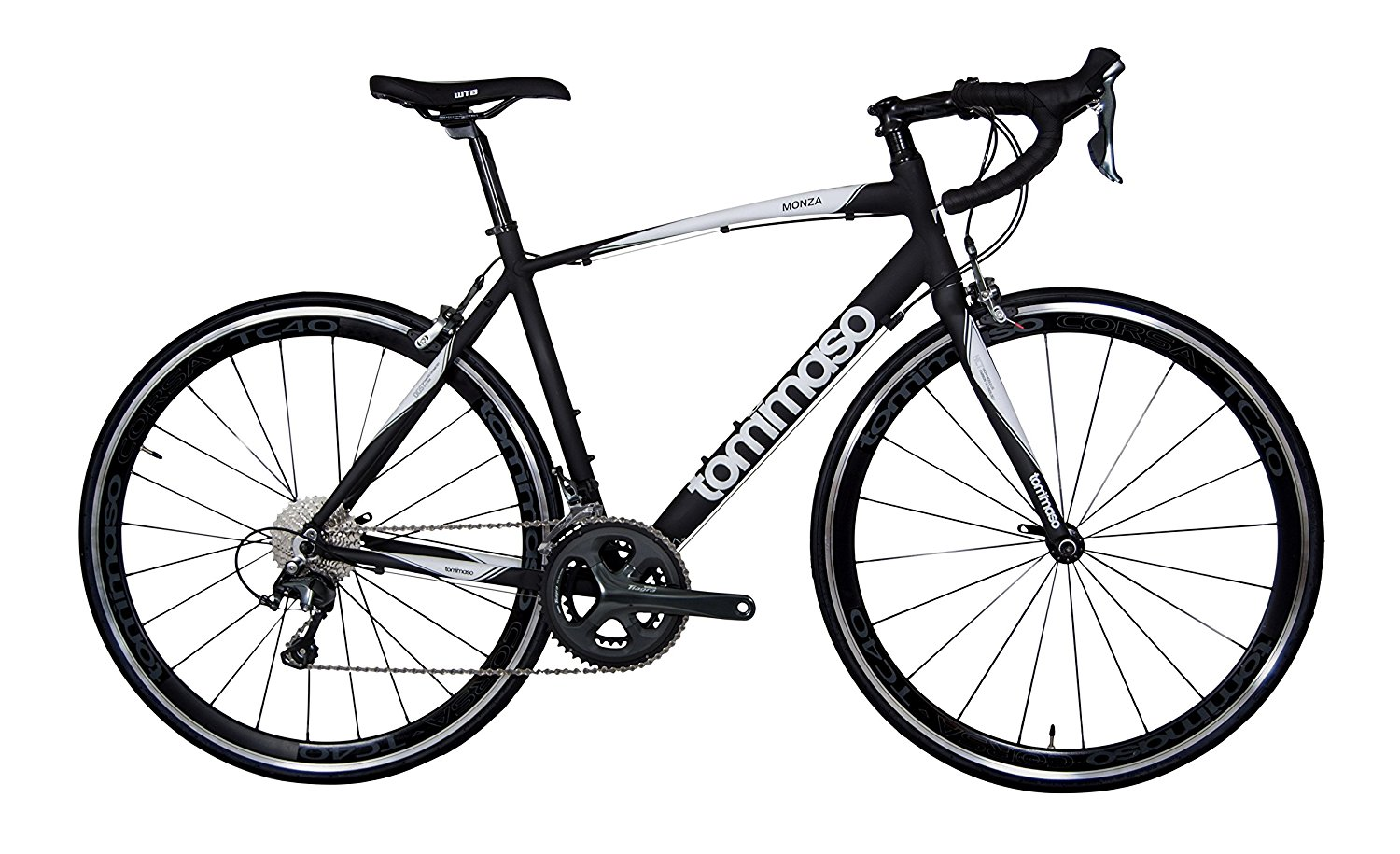 Tommaso Monza Aluminum Tiagra Road Bike with Carbon Fork