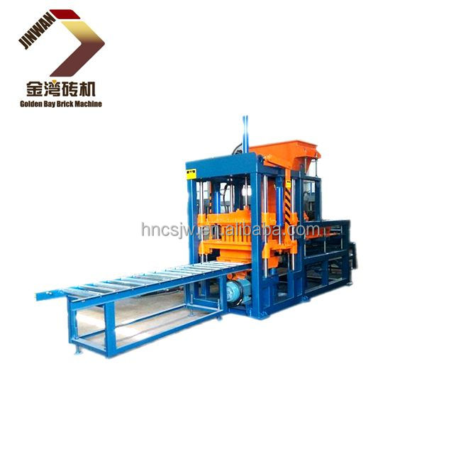 QTY3-15 press brick making machine, construction system ,cement brick machine bloques cemento