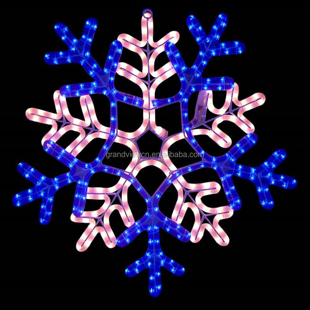 new style christmas decoration led big snowflake light buy led big snowflake lightflashing snowflake lightlight up snowflake product on alibabacom