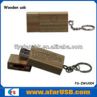 Environmental wooden usb stick, cheap wooden usb flash memory stick with CE/Rohs passed