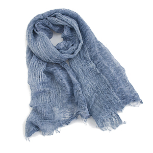 Rulan high-end quality linen viscose blend lady scarf