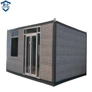2018 factory direct sales luxury 20ft steel container house for living