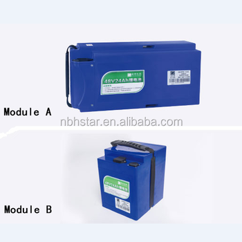 48v 24Ah/48v 28Ah/48v 32AH lithium battery for electric scooters