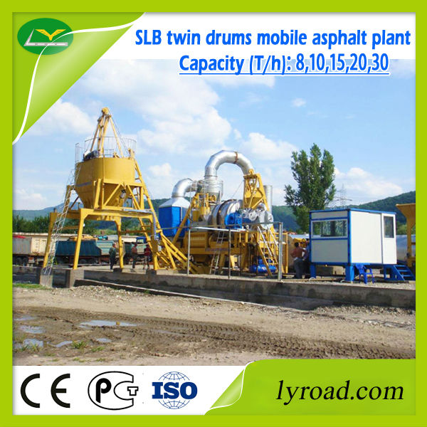 China Supplier Slb Mini Mobile Asphalt Plant With Drying And ...