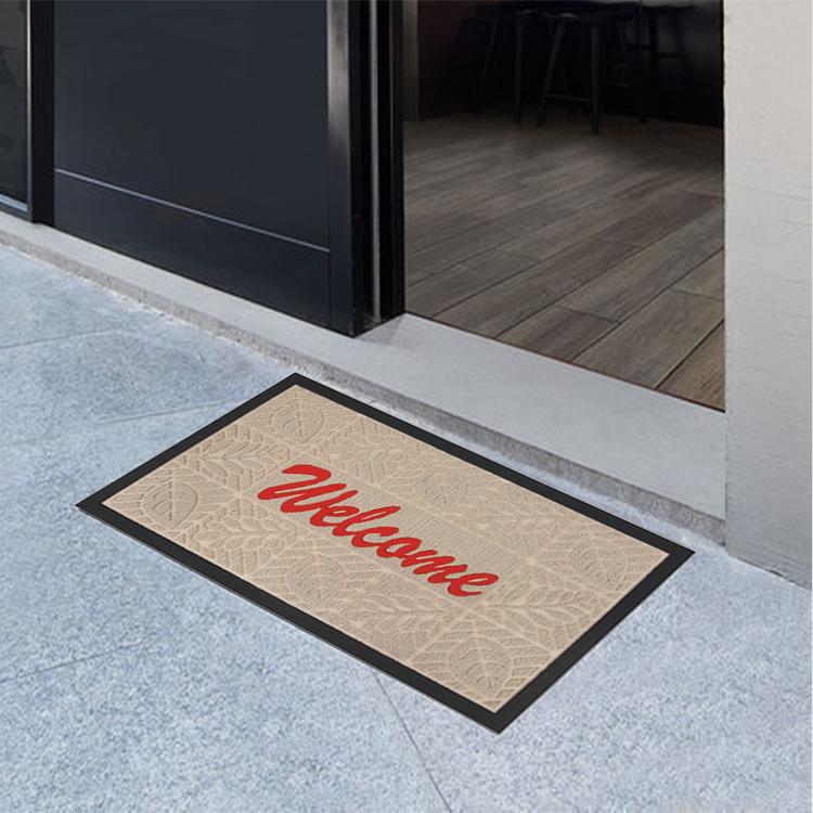 دائم وسهلة لتنظيف داخلية وخارجية رائعة الحرفية ترحيب مكافحة زلة سجادة باب الطابق