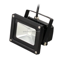 12v 24volt outdoor ip65 ip67 color changing multi color rgb dmx 10w led flood light