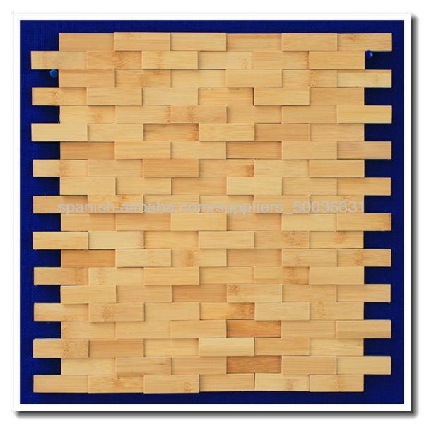 panel decorativo de pared de madera del interior d