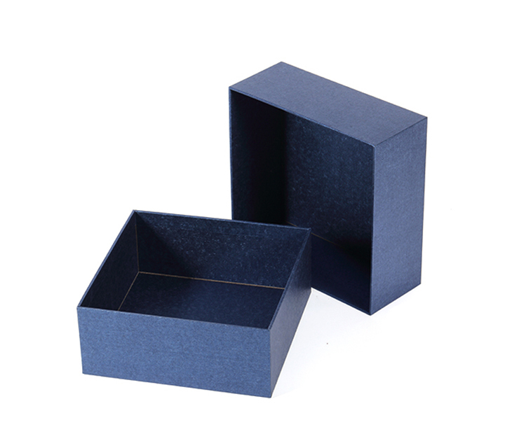 No Printing Special Paper Blue Empty Watch With Luxury Gift Boxes Cases