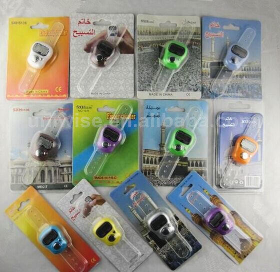 2015 hot salemuslim finger nhẫn tally counter